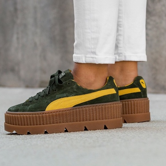 pretty nice fb5d9 87f7b Fenty puma cleated creepers NWT